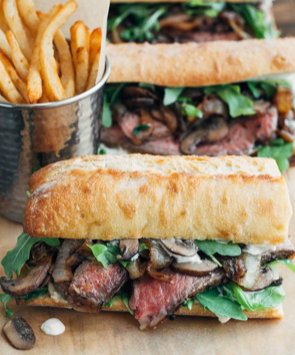 Asian Boneless Beef Ribs Sandwich