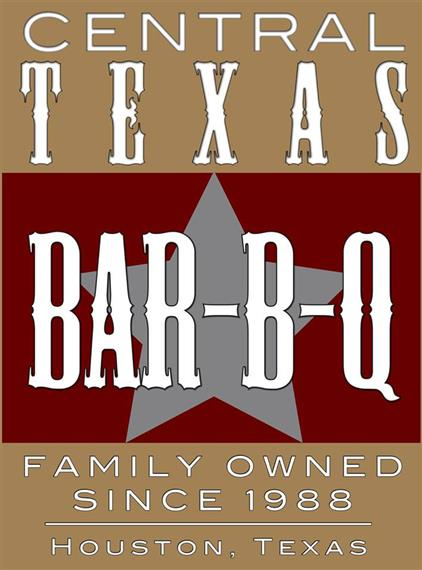 Central Texas Bar-B-Q. Family owned since 1988. Houston, Texas