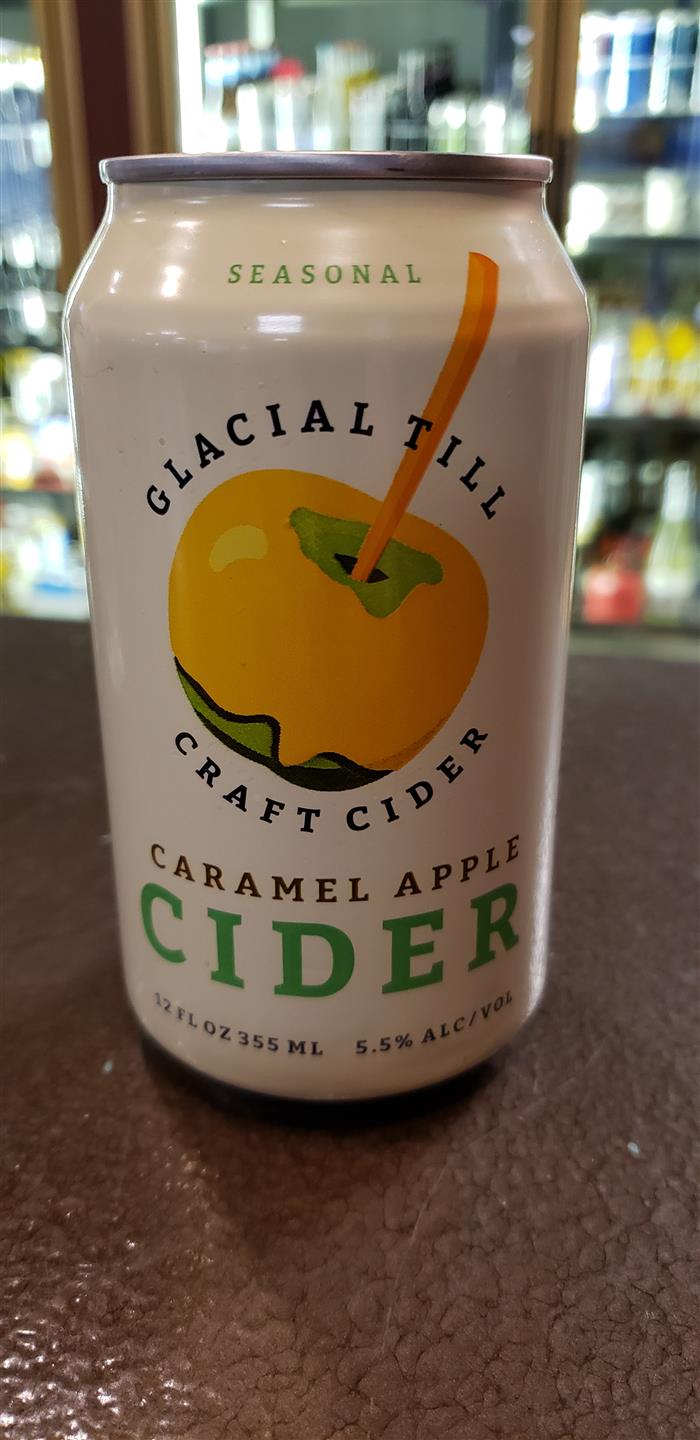 glacial till caramel apple cider can