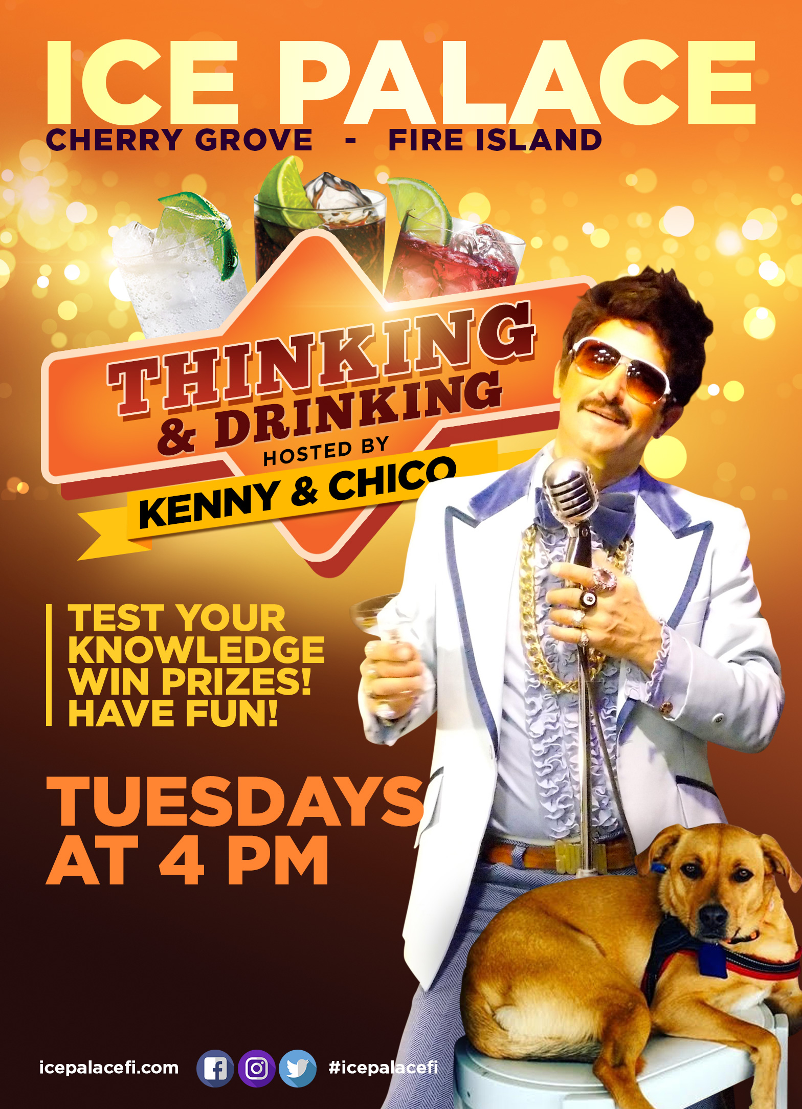 Thinking and drinking tuesdays at 4pm