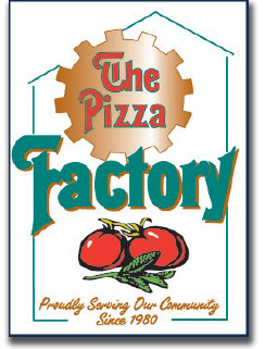 The Pizza Factory. Proudly serving our community since 1980