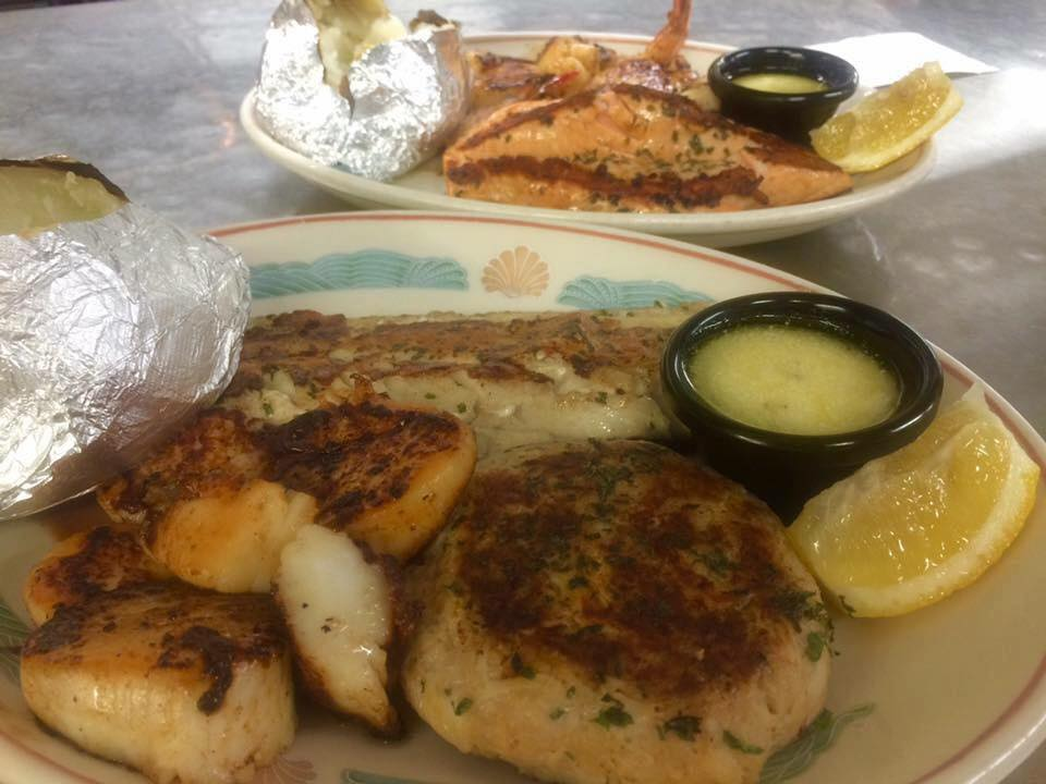 Our Grilled Seafood Specialties