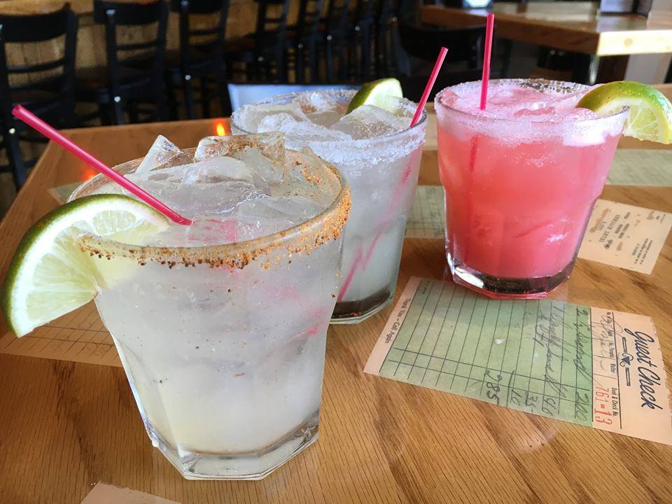 Our Homemade Flavored Margaritas