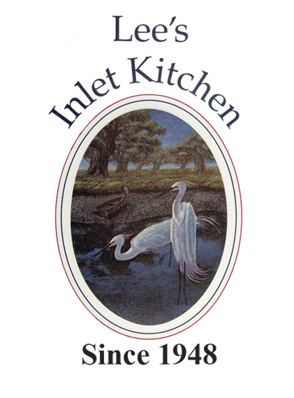 Lee's Inlet Kitchen. Since 1948.