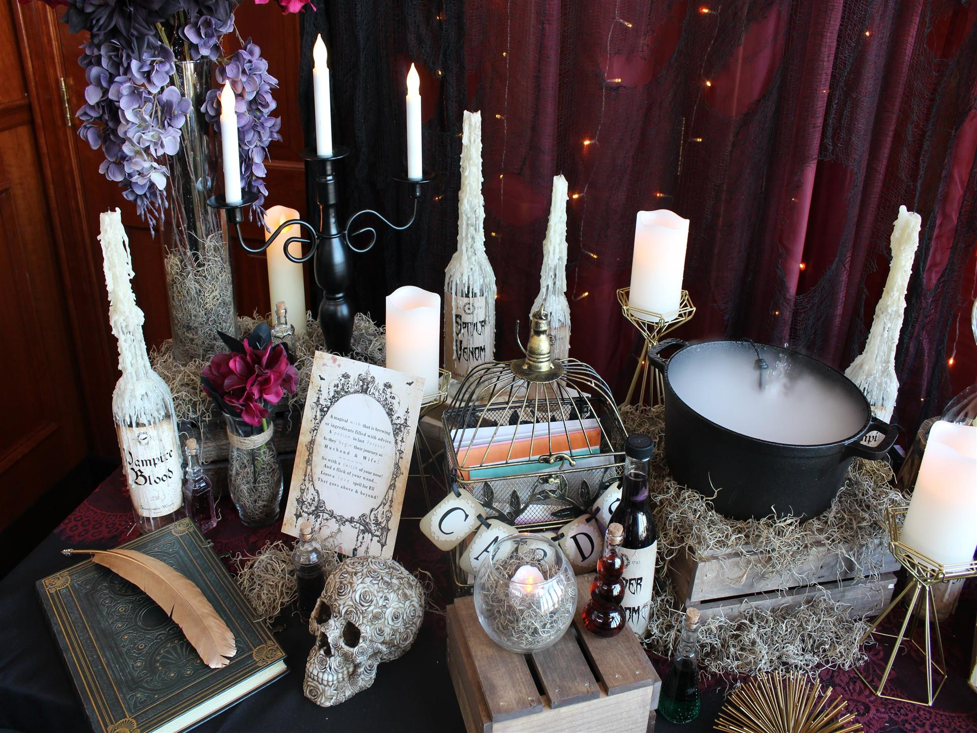 Party Room candle display