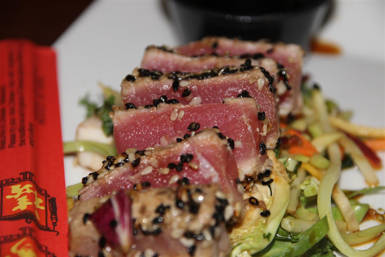 *Sesame Seasoned Ahi Tuna