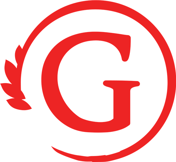 Large red 'G' logo for Giovanni's