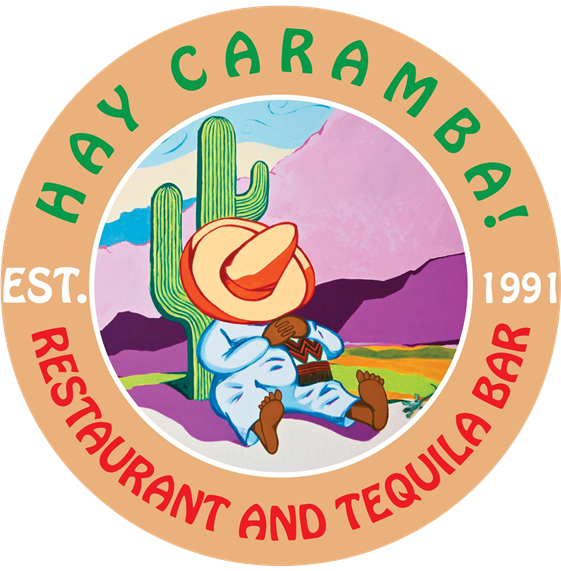 Hay Caramba restaurant and tequila bar. Est. 1991