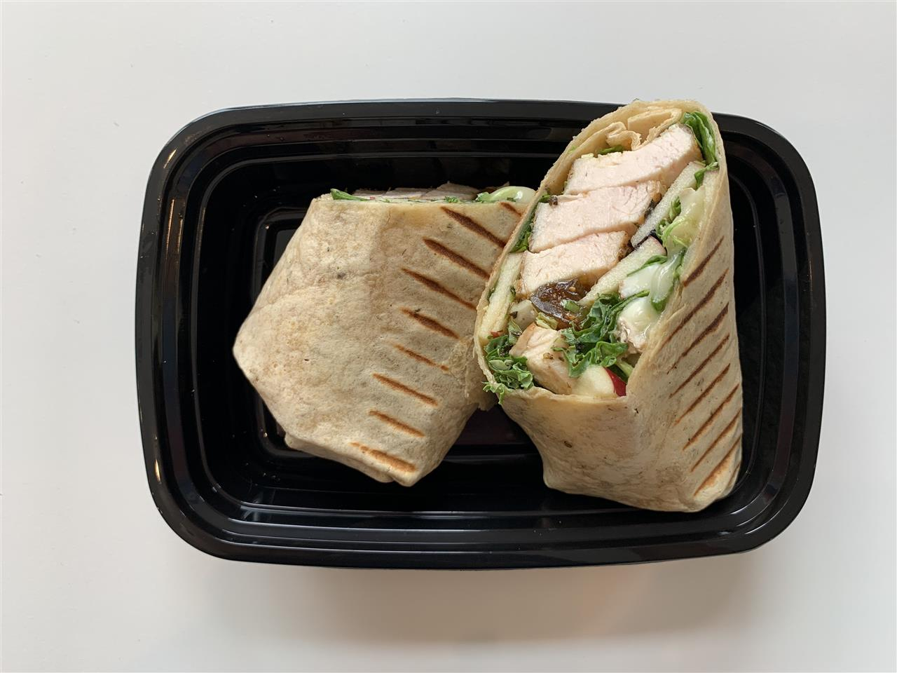 Chicken And Brie Wrap