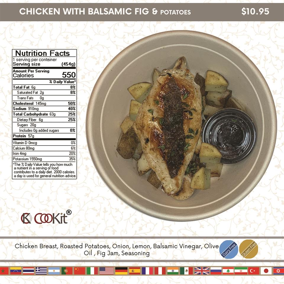 Chicken with Balsamic Fig