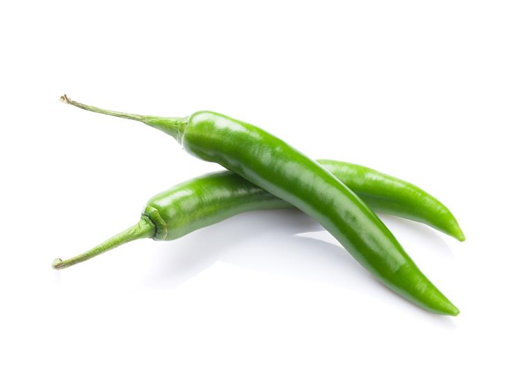 Baklouti Green Chili pepper