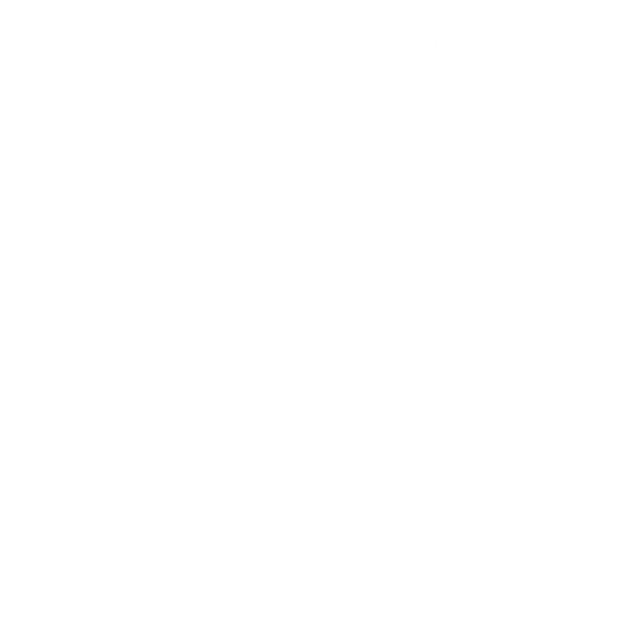 plate with a fork and knife