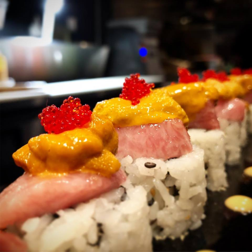 Toro and uni roll