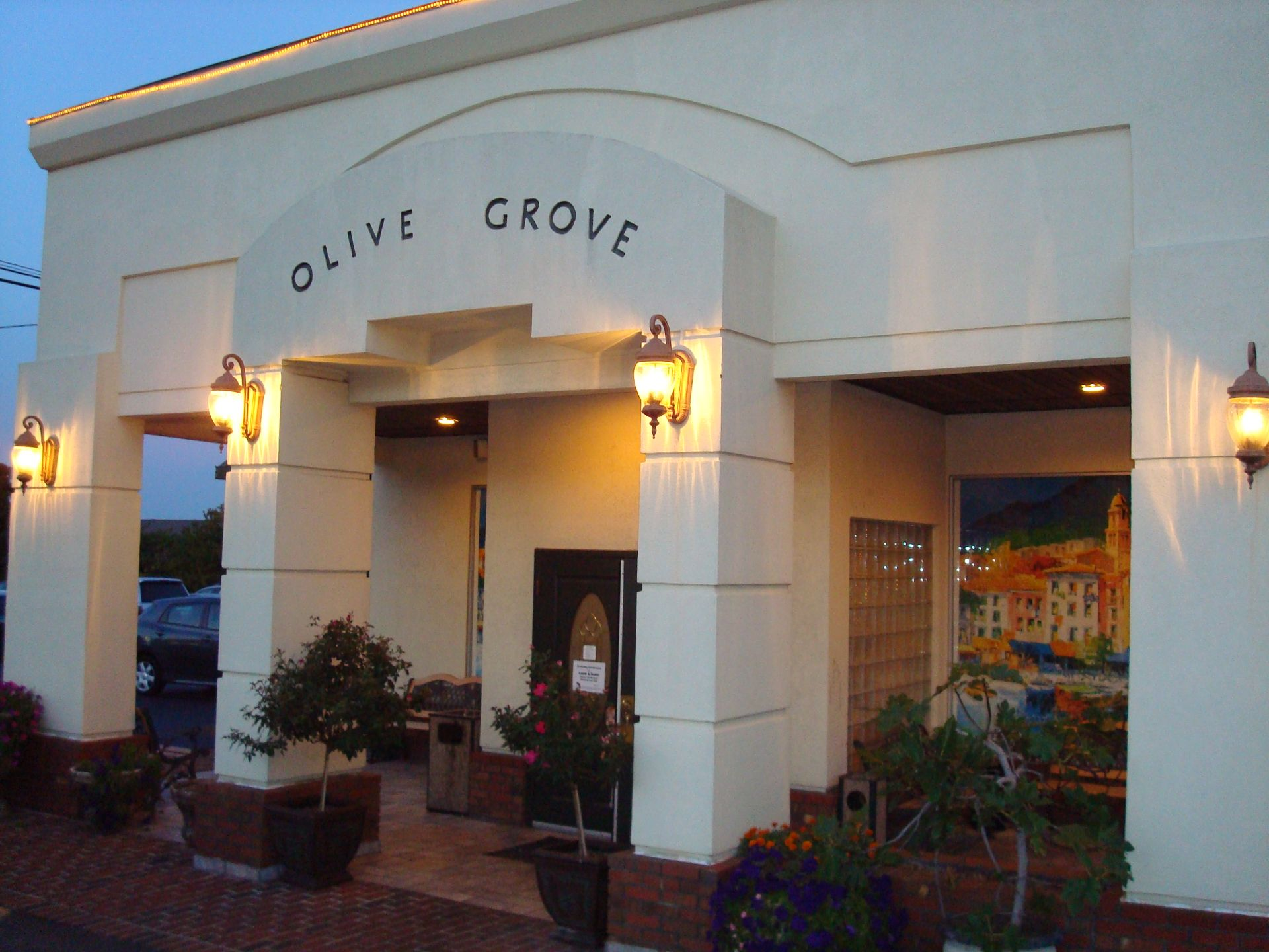 Front entrance of Olive Grove