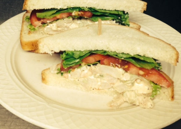 Jumbo Shrimp Salad Sandwich