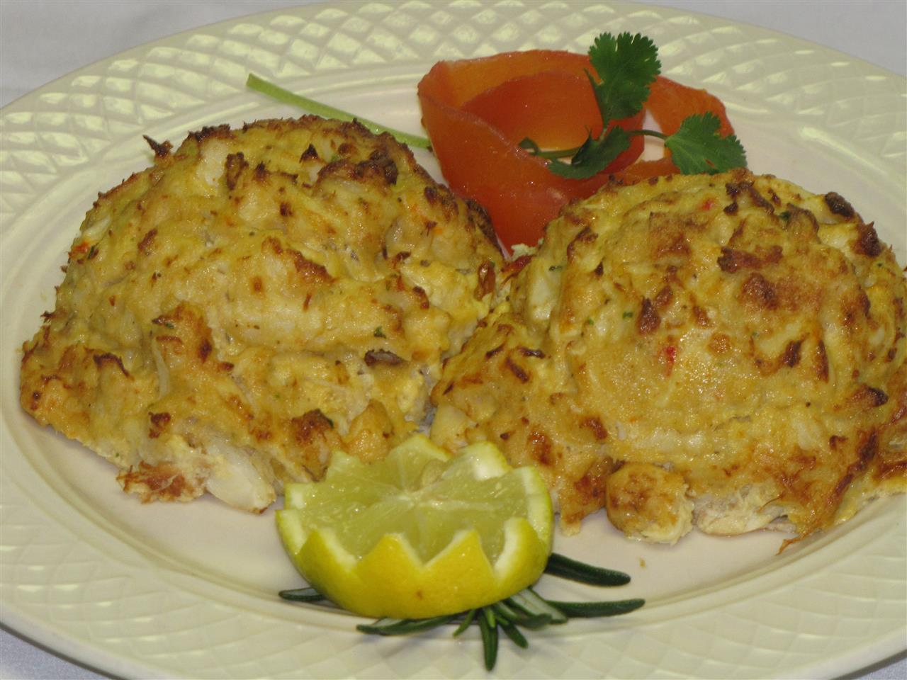 Double Crab Cake Platter*