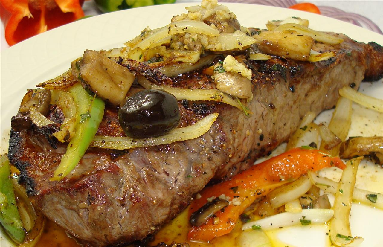Steak Italiano*