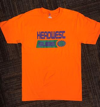 Name: Head West Orange T-Shirt