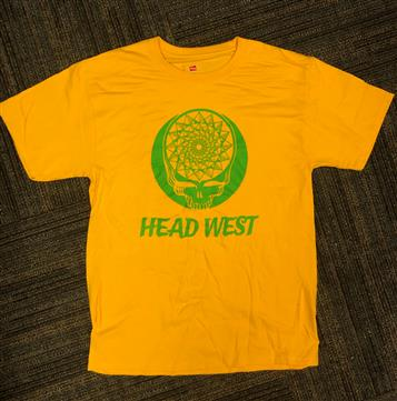 Head West Yellow T-Shirt