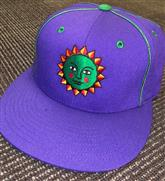 Head West Custom Purple Snap Back Hat