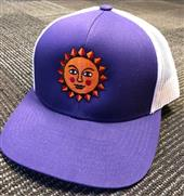 Head West 217 Purple Snap Back Hat