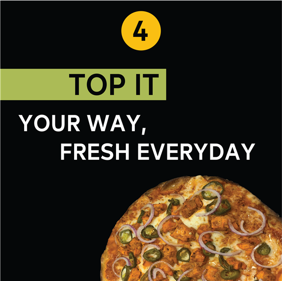 Top It | Your way, fresh everyday