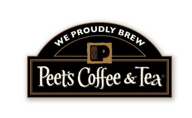 We proudly brew Peet's Coffee & Tea