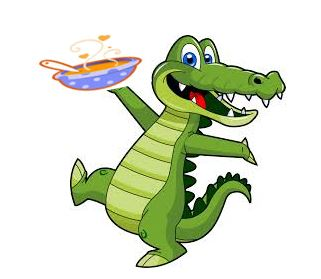 Gator with Soup