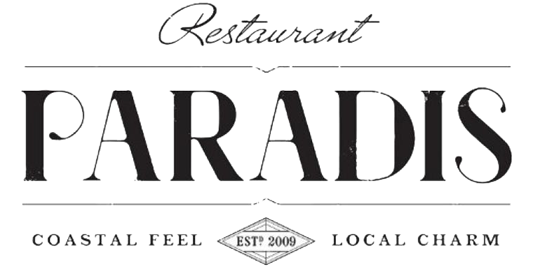 Restaurant Paradis Costal Feel, Local Charm est 2009