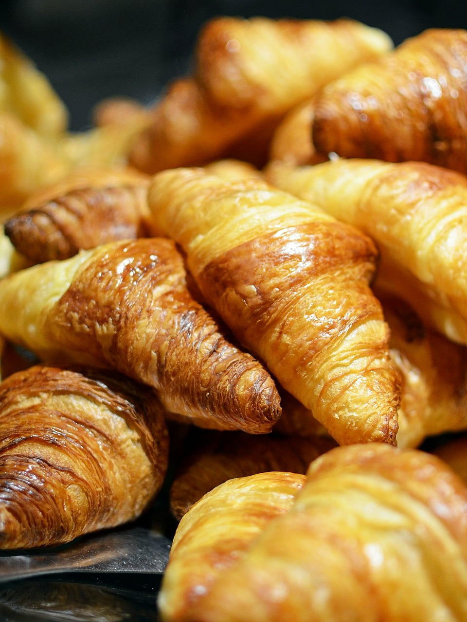 assortment of croissants