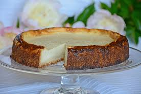 cheesecake with a slice cut out