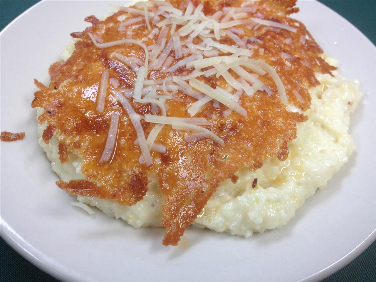 Cheesy Fried Grits
