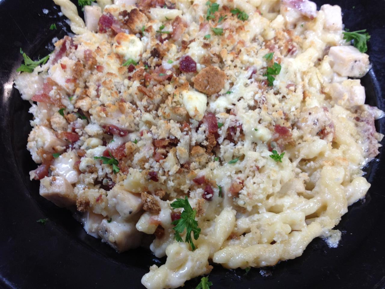 Chicken & bacon Mac