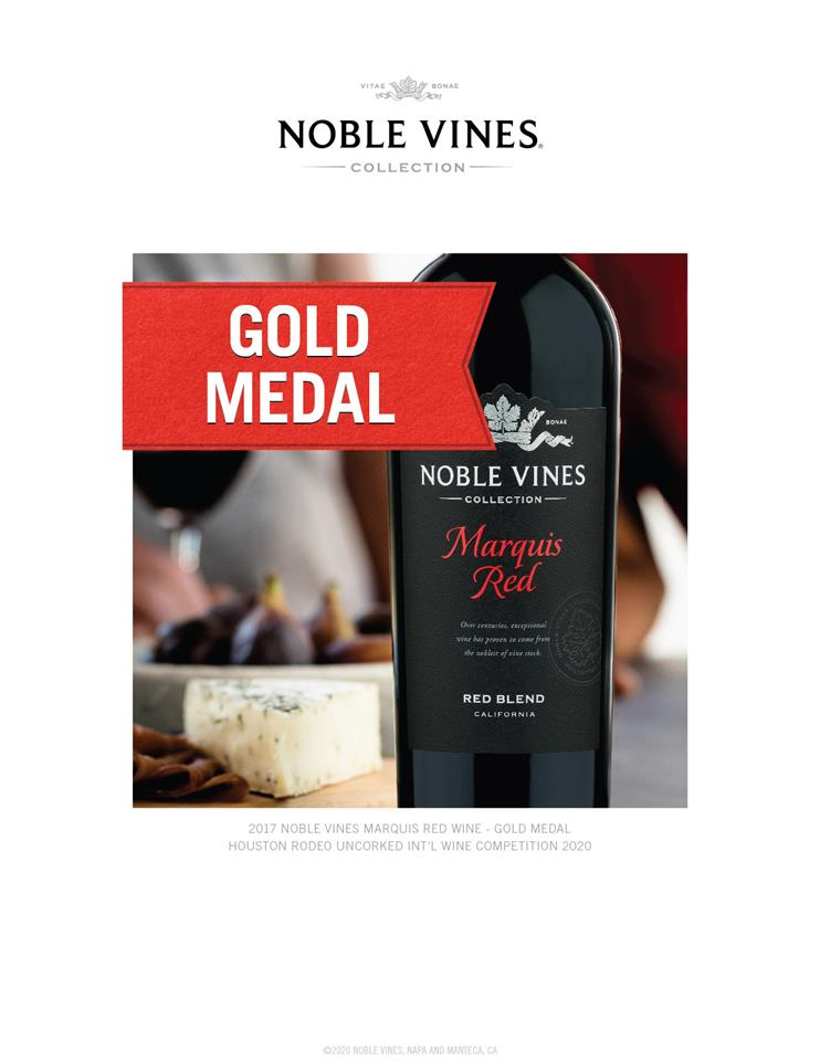 Bottle of Nobel Vines Marquis Red