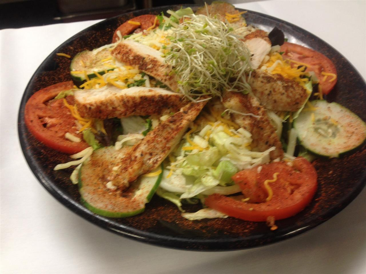 Cajun Chicken Breast Salad