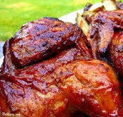 BBQ Grilled Half Chicken