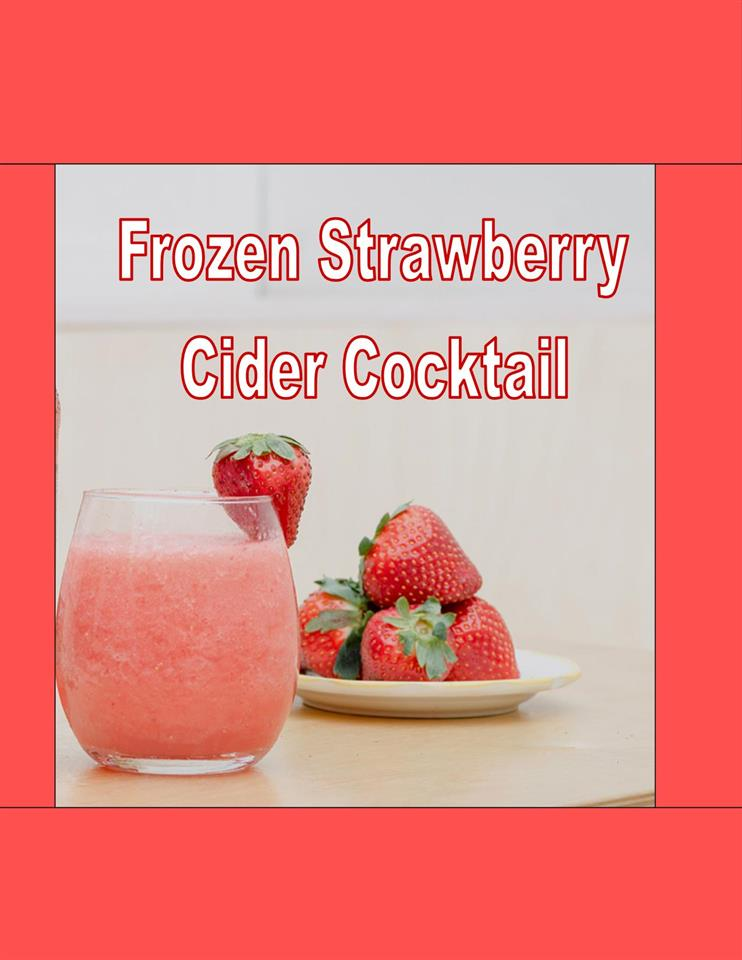 Frozen Strawberry Cocktail
