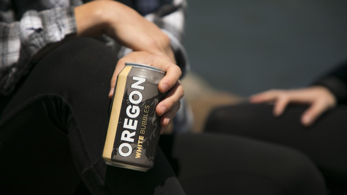 Oregon Canned Wine