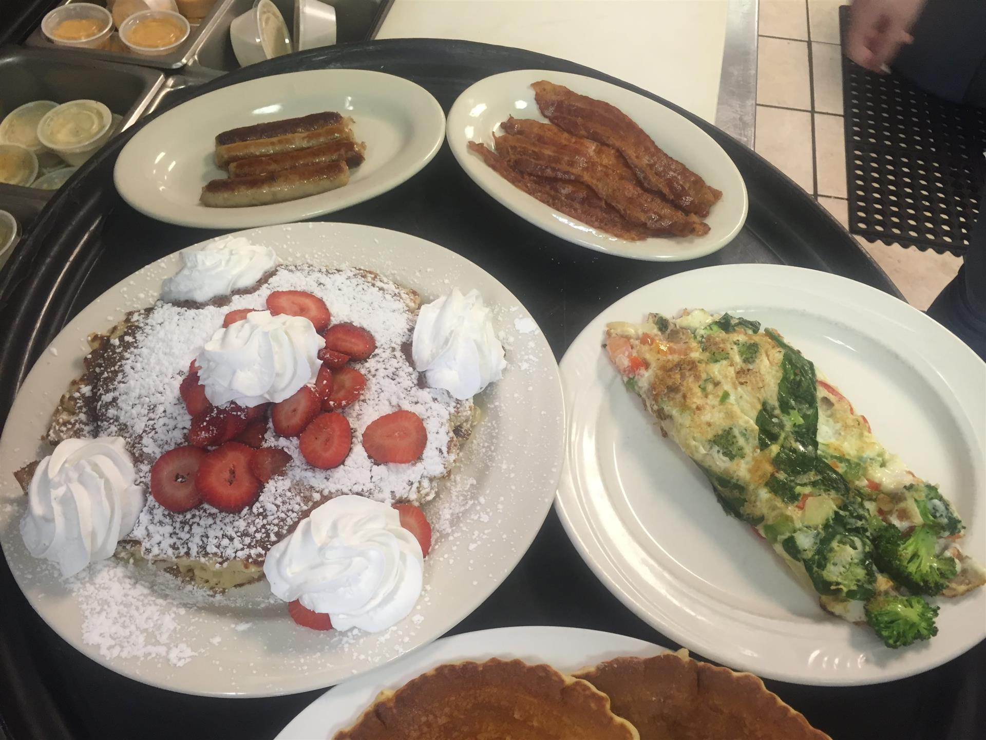 Assortment of Breakfast dishes