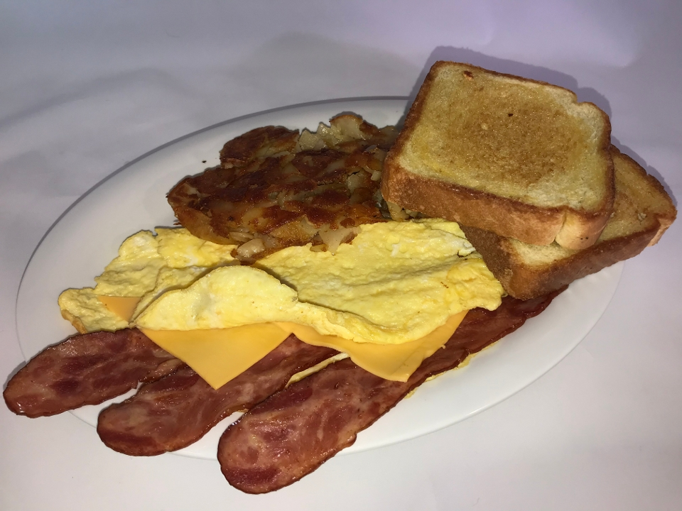 Turkey Bacon Omelet