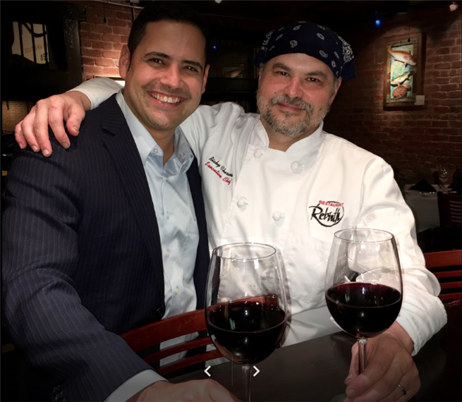Executive Chef Ricky Cheramie & Operating Partner Manny Pineda