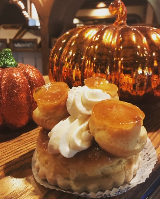 fall themed pastries