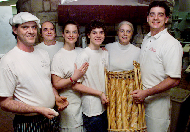 Family of La Chatelaine Bakery posing for a picture