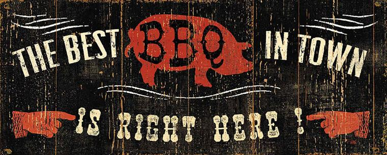 the best bbq in town is right here!