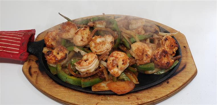 SHRIMP FAJITA