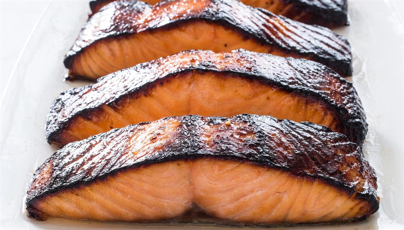 Miso Marinated Salmon for 4