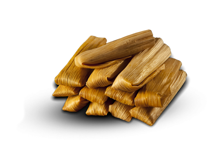 a pile of tamales