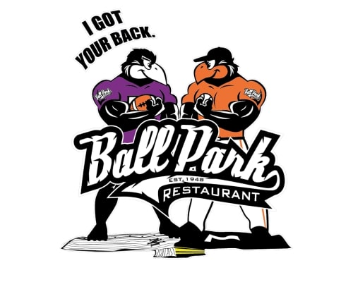 ballpark restaurant logo