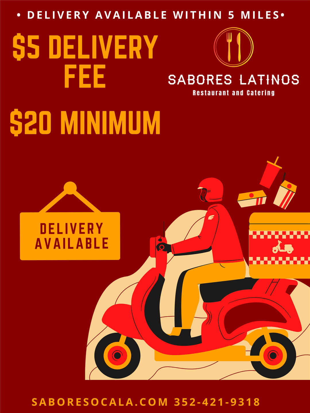 Green and Yellow Delivery Back to Business Posters.png