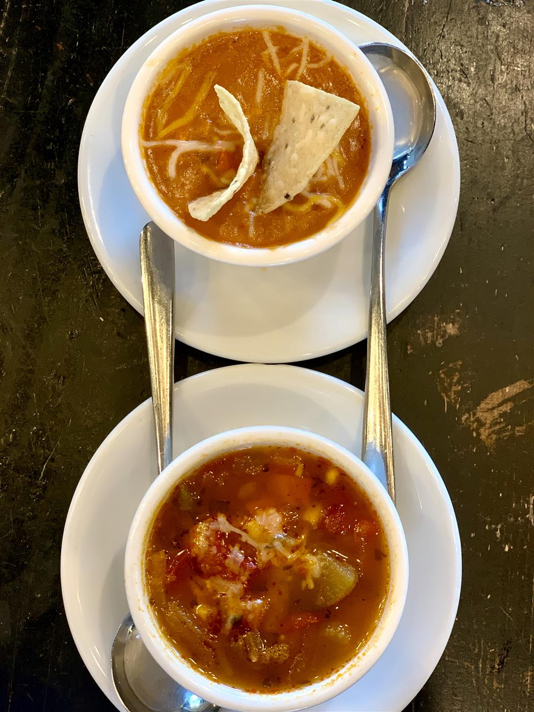 our two delicious soups